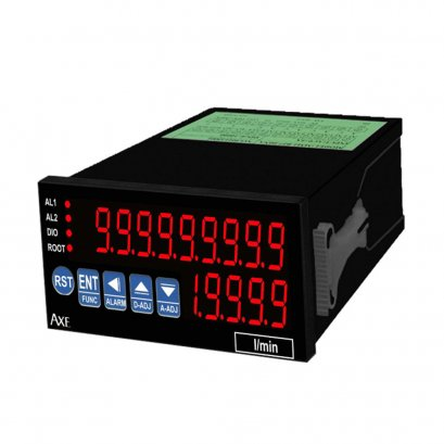 MFRT MICROPROCESS RATE & TOTALIZER CONTROLLER METER (PULSE INPUT)(48x96mm)