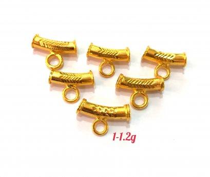 โค้ง ทองรุ่นเล็ก 1เซ้น รุ่นเล็กกะทัดรัดน่าใช้มากๆคะ