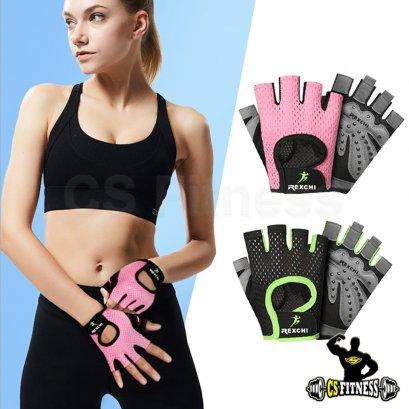 ถุงมือยกน้ำหนัก ถุงมือฟิตเนสผู้หญิง