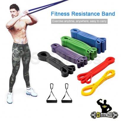 ยางยืดออกกำลังกายแรงต้าน 5 ระดับ (8-56 Kg)