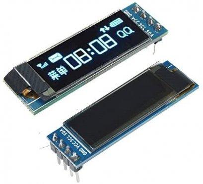 OLED 0.91 inch 128x32 I2C Blue SSD1306