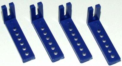 ชุดพลาสติก ฉาก 3.3x4 ซม. 6ชิ้น