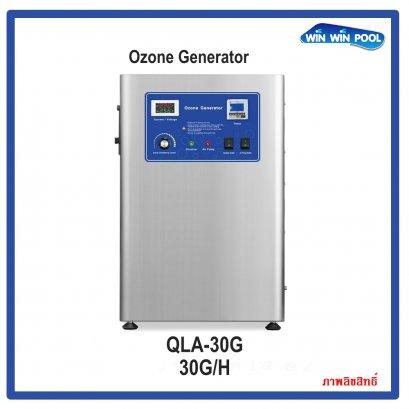 30G/H OZONE GENERATOR เครื่องผลิตโอโซน ฆ่าเชื้อโรค สำหรับสระว่ายน้ำ 60-70m3 บำบัดน้ำดื่ม  ฆ่าเชื้อในห้อง Ozone output 30G/H