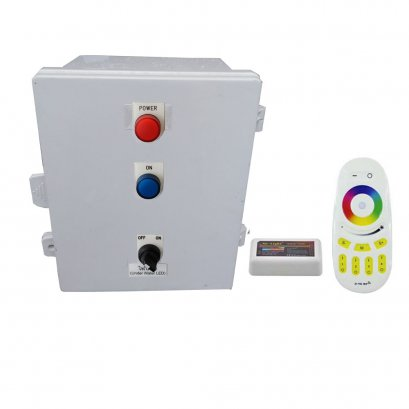 Remote RGB สำหรับโคมไฟเปลี่ยนสี 4 Core สำหรับไฟเส้น RGB Milight 1 zone Wifi 2.4Ghz 100w