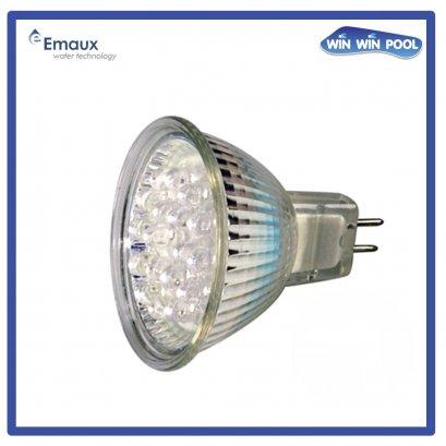 LED 1W / 12V, MR16-18 LED Bulbsl (Auto Colour Change )