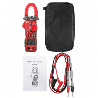 ***สินค้าหมดชั่วคราว*** Digital Handheld Clamp Multimeter Tester Meter DMM CE AC DC Volt Amp US