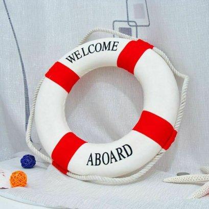 ห่วงชูชีพสีแดง Swimline Lifeguard Life Preserver Life for swiimingpool 35cm/13.77inch