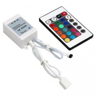 รีโมทไฟเส้นIR Box Remote Controller 24 Keys for RGB LED Light Strip LW (ไม่รวม Powe Supply)