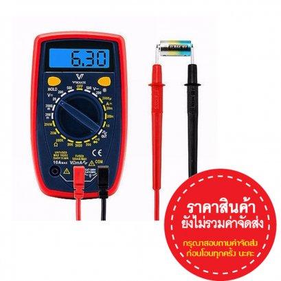 มัลติมิเตอร์ สำหรับช่างไฟฟ้า อิเล็กทรอนิกส์Digital Multimeter Measurement Probes Electrical Instruments Tool Silicone