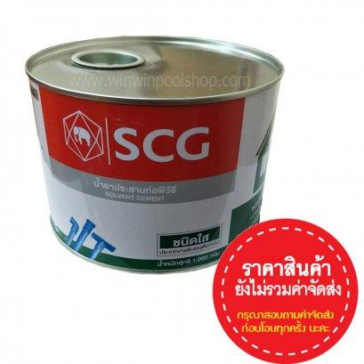 น้ำยาประสานท่อ PVC ตราช้าง , กาวทาท่อ ตราช้าง (ชนิดใส)