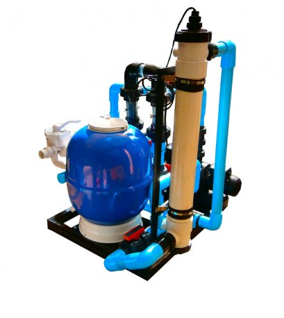 ระบบน้ำแร่ Mineral Pool 50 คิว Complete Set ประกอบเสร็จพร้อมใช้งาน