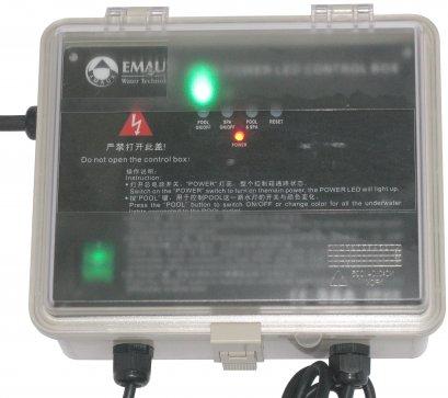 การติดตั้งตู้ควบคุมไฟ RGB EMAUX