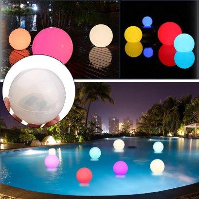 โคมไฟสระว่ายน้ำ LED SOLAR 7Color เปลี่ยนสีได้7สีใช้พลังงานแสงอาทิตย์