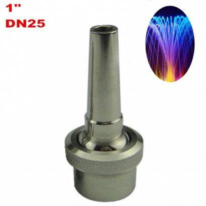 """หัวน้ำพุโคเมท COMET 1"""" สแตนเลส Stainless DN25 สามารถปรับองศาได้"""