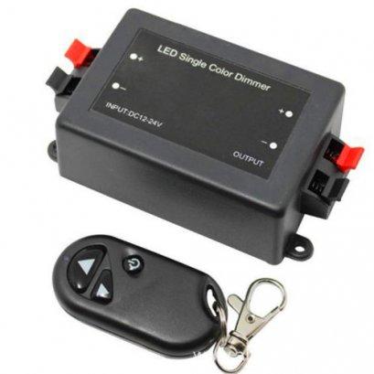 รีโมทRemote 12VDC 8A Dimmer-ON-OFF Wireless Controller Ledควบคุมโคมไฟใต้น้ำหรืออุกรณ์เครื่องใช้ไฟฟ้าที่เป็น ไฟกระแสตรง12VDC(ยังไม่รวมหม้อแปลงนะคะ)