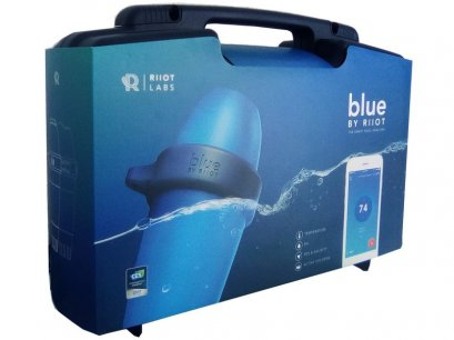 Blue Connect Smart Pool analyser เครื่องวัดคุณภาพน้ำชาญฉลาด 4 in 1 Temp /PH /ORP/ Salt ตรวจเช็คคุณภาพน้ำในสระว่ายน้ำของคุณผ่าน Smart phone ได้ทั่วทุกมุมโลก