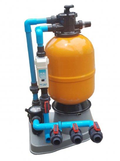 อุปกรณ์สระว่ายน้ำComlete Set 30Q สกิมเมอร์ ระบบเกลือApple