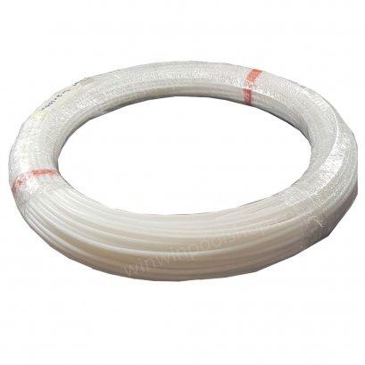 PTFE Tube(Teflon) 5x8mmสายจ่ายสารเคมีเทปล่อน ทนการกัดกรอน และแรงดันสูงมาก สำหรับปั้มจ่ายเคมีทุกยี่ห้อ ทนกรดรุนแรง ทนด่างรุนแรง ราคาต่อ @1เมตร