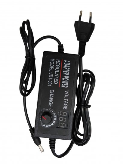 9-24V  AC/DC Adjustable Power Adapter Speed Control Volt Display HMA