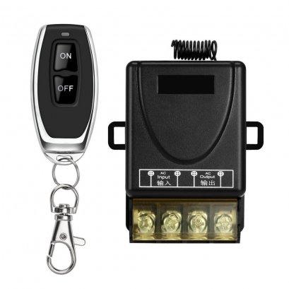 รีโมท30A 12VAC ควบคุมไฟสระว่ายน้ำRGB/ Wireless Remote Control Switch 433MHz