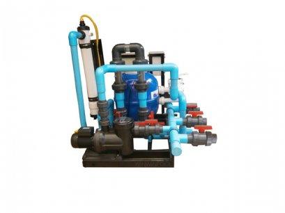 Complete Set 50 คิว Whale pool+Mineral ระบบน้ำแร่ ประกอบเสร็จ Skimmer