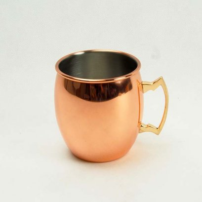 Rose gold cup,hammer
