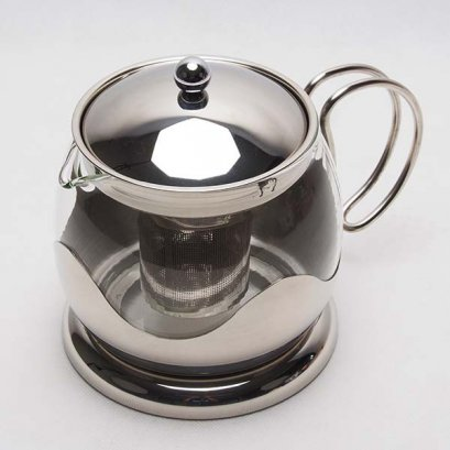 Le Teapot 1200 ml. Stainless steel