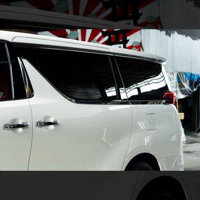 คิ้วโครเมี่ยมรอบคัน ติดรถยนต์ อัลพาร์ด เวลไฟร์ 30 Alphard/Vellfire คิ้วโครเมี่ยมติด อัลพาร์ด เวลไฟร์ 30 โครเมี่ยมติด อัลพาร์ด เวลไฟร์ 30