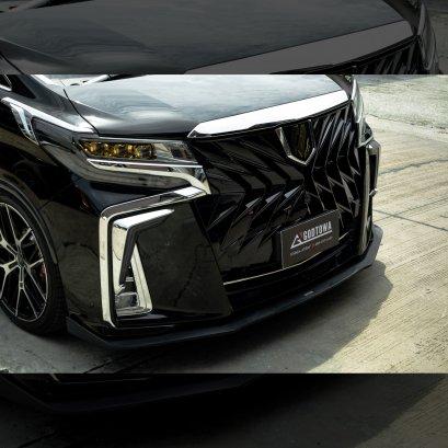 กระจังหน้าแต่ง GODZILLA 2022 FRONT GRILLE กระจังหน้าอัลพาร์ด ชุดกระจังหน้าแต่ง สำหรับรถ ALPHARD SC front grille หน้ากระจังอัลพาร์ด