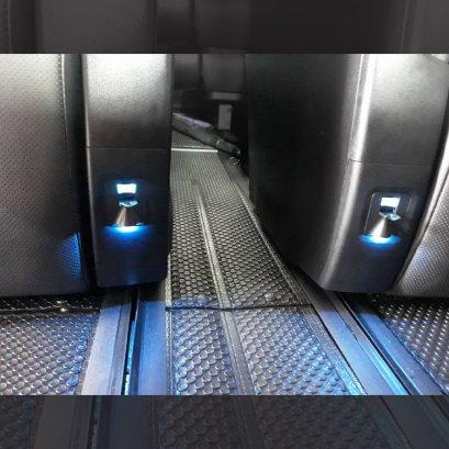 ช่องชาร์จ USB พร้อมไฟส่องสว่าง GODZILLA ILLUMINATION USB alphard vellfire 2015 ถึง 2021