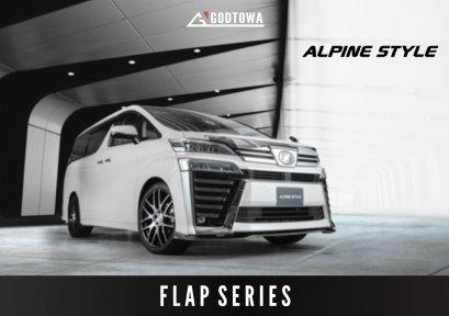 ชุดแต่ง ALPINE STYLE FLAP SERIES 2020 ชุดแต่งอัลไพน์สไตล์ ชุดแต่ง ALPINE STYLE FLAP SERIES ชุดแต่งอัลไพน์สำหรับรถยนต์เวลไฟร์ ลิ้นหน้าเวลไฟร์ ลิ้นรอบคันเวลไฟน์ อัลไพน์สไตล์