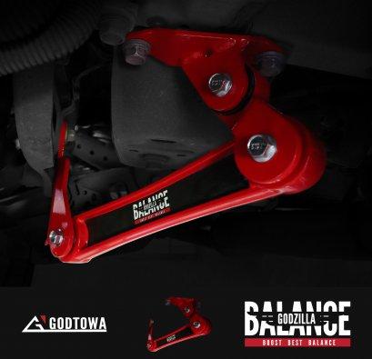 กันโคลง ยี่ห้อ Godzilla Balance ตรงรุ่นสำหรับรถยนต์ ALPHARD/VELLFIRE godzilla balance โช๊คอัพ ค้ำโช๊ค โตโยต้าอัลพาร์ด โตโยต้าเวลไฟร์ Alphard accesories vellfire accessories