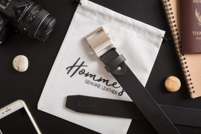 Homme's Auto smart lock Belt