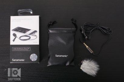 Saramonic รุ่น SR-LMX1 Lavalier ไมโครโฟน