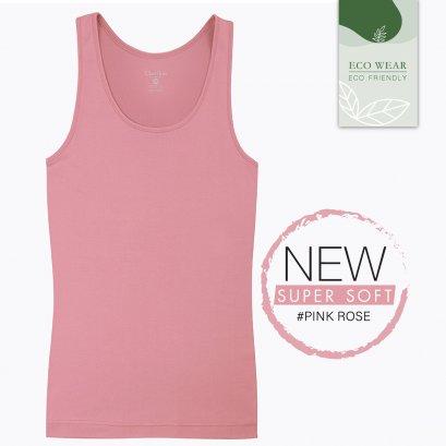 ECO WEAR เสื้อกล้ามบังทรง Cherilon Intimate สีชมพู #Pink Rose รหัส BSVRY2