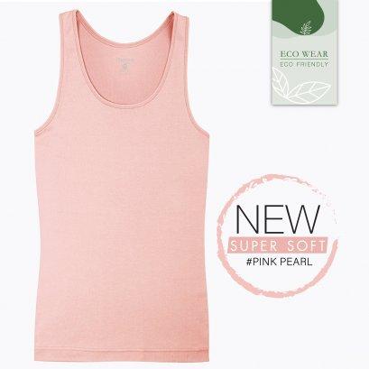 ECO WEAR เสื้อกล้ามบังทรง Cherilon Intimate สีชมพู #Pink Pearl รหัส BSVRY2