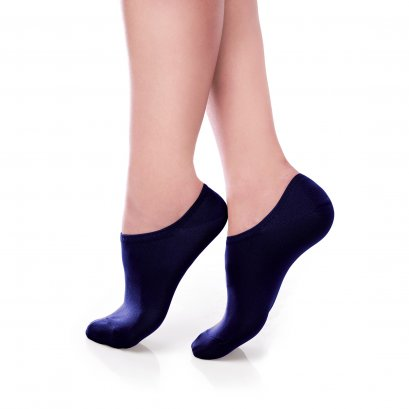 ถุงเท้ารองส้น แบบปิดหน้าเท้า สีดำ รหัส NEFC03