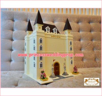Money box Castle Cream