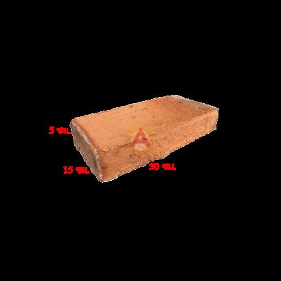 232 อิฐโบราณ 02 (ผิวหยาบ เผาฟืน) ขนาด 5X15X30 ซม.