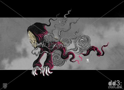 Digital Artwork - DD3 Ghost