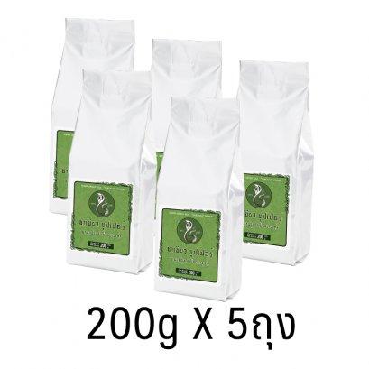 ชาเขียวซุปเปอร์ ตรางูเห่า  (5 ห่อ)