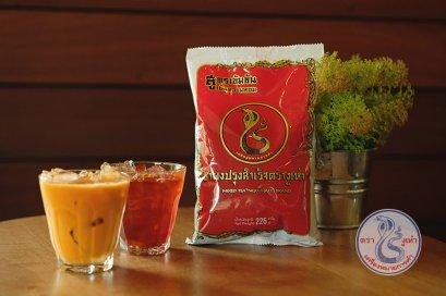 ชาแดงโบราณ ฉลากแดง ตรางูเห่า ( 6ห่อ)