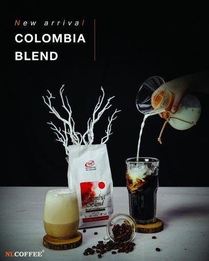 เมล็ดกาแฟคั่ว สูตร : โคลัมเบีย เบลนด์ Colombia Blend (250g)