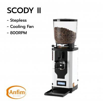 Anfim : SCODY II White (Stepless + Fan)
