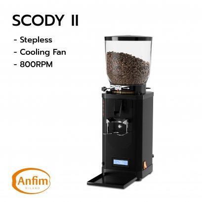 Anfim : SCODY II  Black (Stepless + Fan)