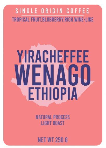 Ethiopia Yirgacheffe - Wenago (Natural)