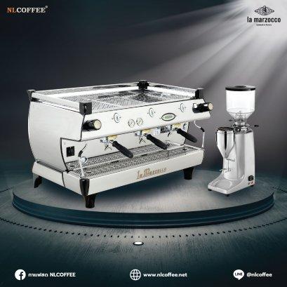 โปรโมชั่นชุดเครื่องชงกาแฟ La Marzocco รุ่น GB5 3EE