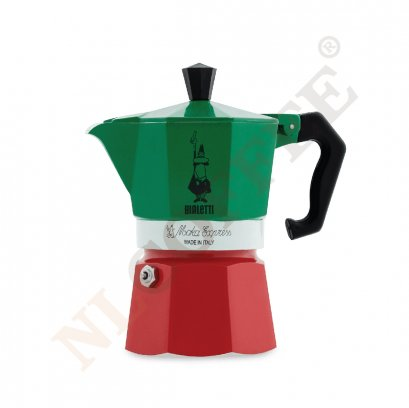 BIALETTI MOKA EXPRESS 3 CUP (SPECIAL COLOR)
