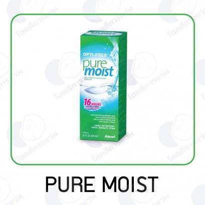 น้ำยาล้างคอนแทคเลนส์ Pure Moist สูตร 16 ชั่วโมง
