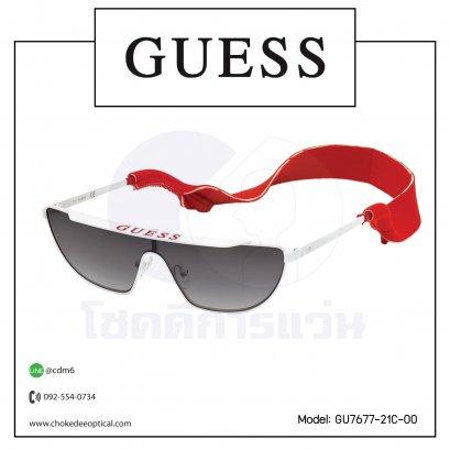 แว่นกันแดด Guess GU7677-21C-00